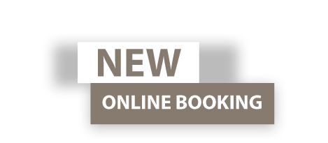 New online Booking!